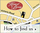 House of Beauty map